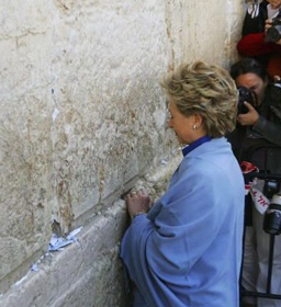 Wailing Wall Prayer Famous Figures Praying At The