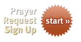 Prayer Request Sign Up